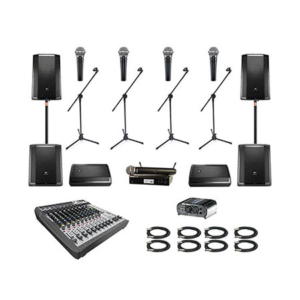 Sound Equipment Rental in Los Angeles